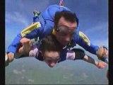 Saut parachute dadou rose