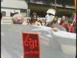 La lutte des sans papiers à Nantes avec la CGT