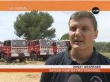 Les sapeurs-pompiers se préparent aux feux de forêts
