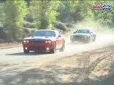 2008 Dodge Challenger SRT8 Vs. 2008 Ford Mustang Bullitt Com
