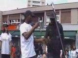 ZK Thug - C'est l'premier rap sur Gonesse !!! (Concert à La Fauco)