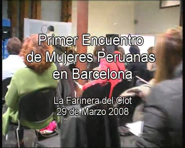 1°Encuentro Mujeres Peruanas