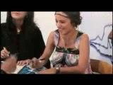 Alizée - Séance de dédicaces au Mexique - 26 Juin 2008