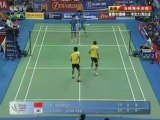 2008 Badminton Thomas Cup Final MD1 game 2