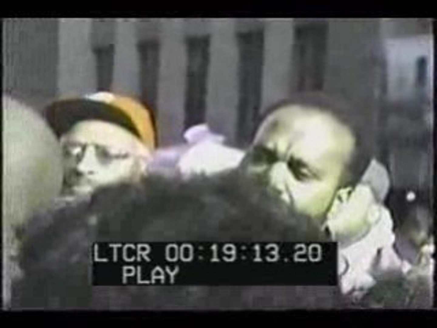 Tupac interview outside court Part 1