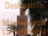 Marrakech  La Koutoubia