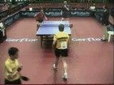 Championnats d'europe des jeunes finale double cadets set2