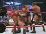 3 on 1 handicap match-Randy Orton vs Evolution