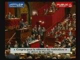Institutions : JM Baylet au congrès de Versailles