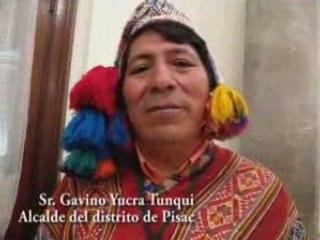 Gavino Yucra Tunqui - Alcalde de Pisac
