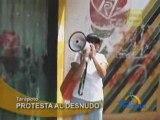 PROTESTA AL DESNUDO - TARAPOTO
