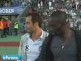 Giuly Makelele Dédicace & Match Amical 4_0 PSG 2009