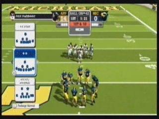 NCAA Football 09 Wii