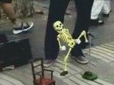 Squelette danseur