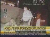 Police sadique TAZER srfemmIMAGINABLE EN FRANCE OU PAS _(!!!