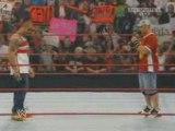 WWE Raw 7/28/08 John Cena & Batista Confrontation