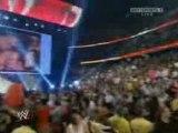 WWE Raw 7/28/08 John Cena & Batista vs JBL & Kane (1/2)