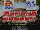FIFA International Soccer intro - Sega Mega Drive - Retro