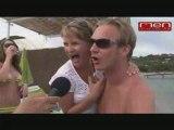interview 1 des belges à la plage Matuvu st tropez 2008