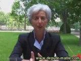 Réforme Heures supplémentaires - Christine Lagarde