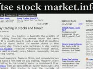Day Trading In Stocks