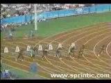100m Men's World Records. 9.84 sec - Donovan Bailey
