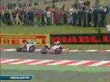 SBK 2008 - BRANDS HATCH RACE 1 HIGHLIGHTS
