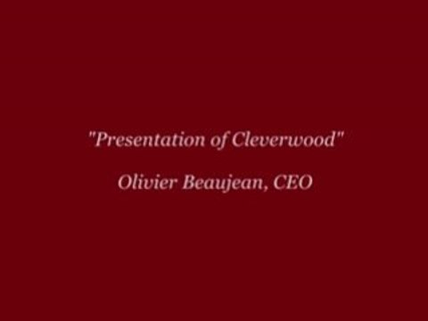 cleverwood intro by Olivier Beaujean