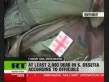 Guerre Ossétie du Sud Géorgie Russie La sinistre réalité