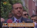 Turquie: le bras de fer entre l'AKP et les laïcs 1-2