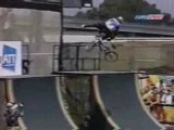 Xgames '97 BMX street Rob Nolli prelims run