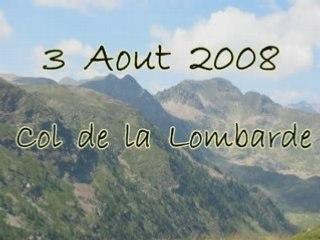 Col de la Lombarde 3 Août 2008