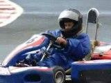 1 tour complet avec louka pilote de kart !