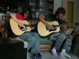 tears don't fall duo guitar and vocal