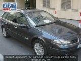 Voiture occasion Renault Laguna II V FAP Carminat PARIS