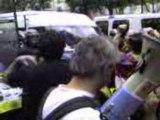 manif RSF Tibet JO - paris 08-08-08 ambassade chine video 4