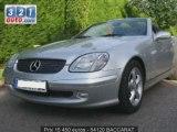 Voiture occasion Mercedes Classe SLK BACCARAT