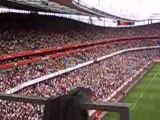 entrée des joueurs arsenal & juventus emirates cup 2008
