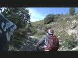Les 2 Alpes : Piste de descente VTT des Crêtes