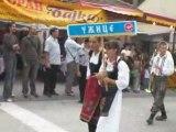 Défilé des fanfares à Guca