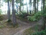 TLR descente cross country VTT (belvédère des caillettes)