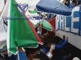 La hinchada de Velez frente a Argentinos Jrs.