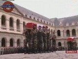 Hommage aux soldats tués à Kaboul 10/10