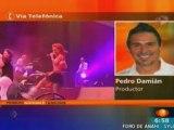 Pedro - habla del fin de RBD de las marchas y de Anahi (1N)