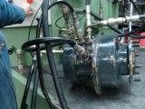 banc essais teste moteur hydraulique poclain