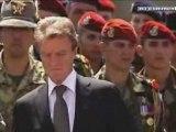 Hommage aux soldats français tués en afghanistan