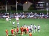 rugby challenge vaquerin camarés millau st affrique aout 08