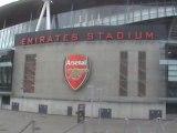 Samir nasri nouveau stade l emirates stadium bon courage la