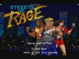 Streets Of Rage Intro + Level 1 Sega Megadrive
