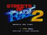 Streets Of Rage 2 Intro + Level 1 Sega Megadrive